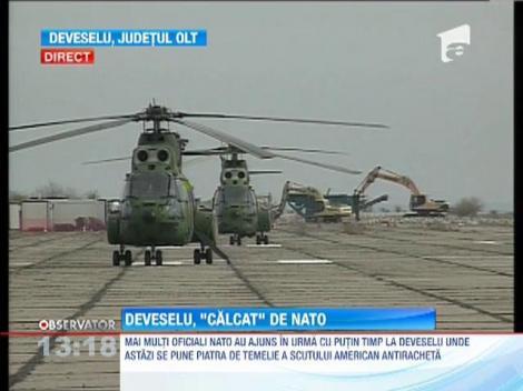 Mai multi oficiali NATO au ajuns la Deveselu
