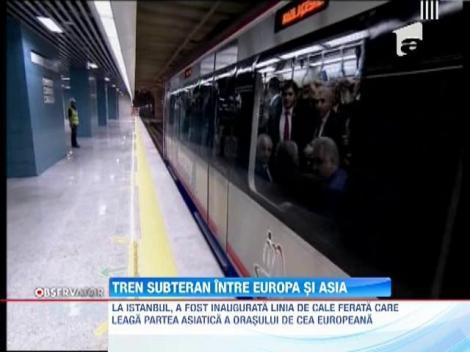 Tren subteran intre Europa si Asia