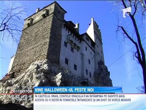 Castelul Bran, locul ideal pentru petrecerea de Halloween