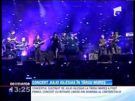 Concert Julio Iglesias in Targu Mures