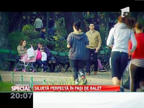 "Campania ""Sari pentru tine""! Silueta perfecta in pasi de balet"