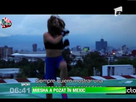 Miesha Tate, sedinta foto in Mexic