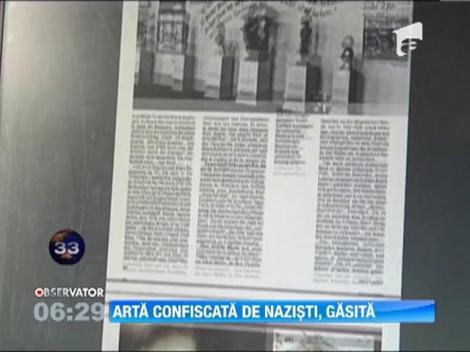 Opere de arta confiscate de nazisti, recuperate de autoritatile din München