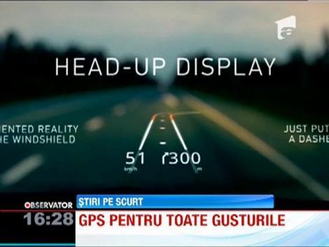 Aplicatie GPS pentru orientarea la volan
