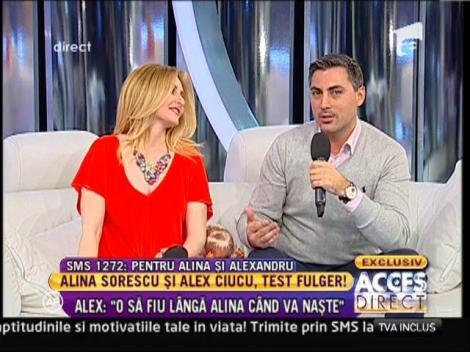 "Alina Sorescu: ""Cred ca o sa plang cand o sa-mi tin fiica in brate"""