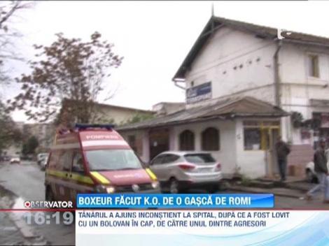 Un boxer din Deva, fost bronz la Europene, a fost batut mar de rromi