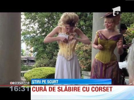Inedit! Cură de slăbire cu ajutorul corsetului