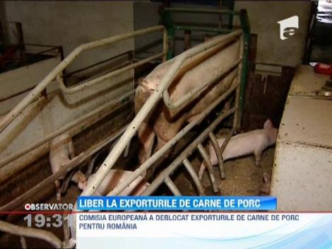 Comisia Europeană a deblocat exporturile de carne de porc pentru România, după 6 ani de interdicţie