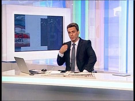 Van Damme nu l-a impresionat. Mircea Badea poate face sfoara pe două camioane!