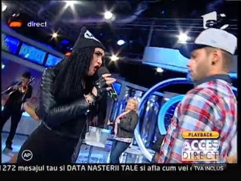 Viorica şi Margherita din Clejani cântă la Acces Direct