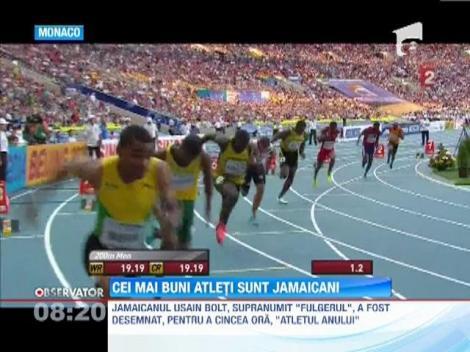 Usain Bolt şi Shelly-Ann Fraser-Pryce, desemnaţi atleţii anului