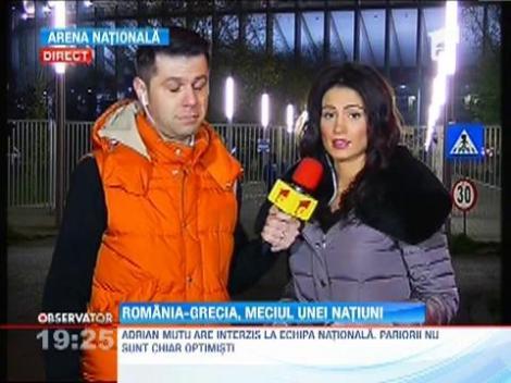 Romania - Grecia, meciul unei natiuni