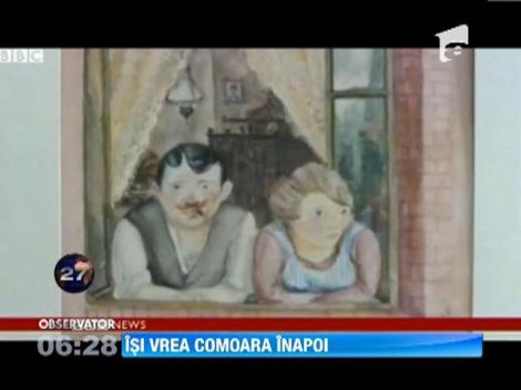 Bărbatul care deţinea picturile despre care se crede că au fost furate de nazişti de la evrei îşi vrea comoara înapoi