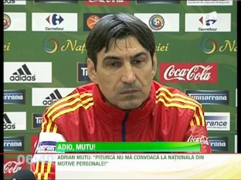 Victor Piţurcă a renunţat definitiv la Mutu