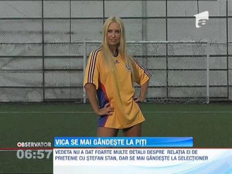 Vica Blochina recunoaşte că mai are sentimente Victor Piţurcă