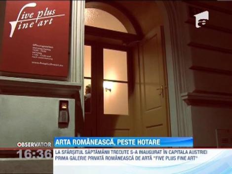Arta românească, peste hotare