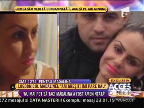 """Rustem, logodnicul Mădălinei Secuianu: """"Nu mai pot să tac! Iubita mea a fost ameninţată!"""""""