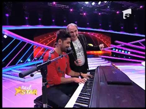 Connect-R improvizeaza la pian, pe scena de la Next Star