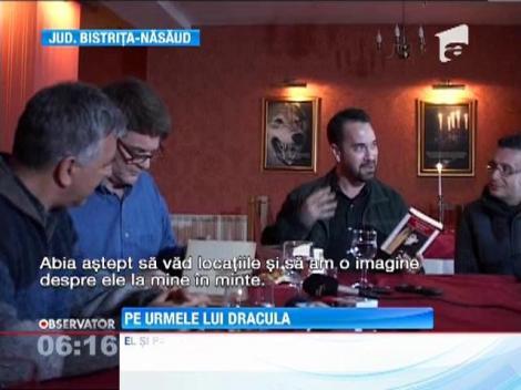 """Strănepotul lui Bram Stoker, autorul romanului """"Dracula"""", în România"""