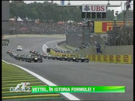 Sebastian Vettel a câştigat a 9-a cursă la rând, în Formula 1