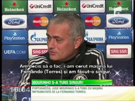 Jose Mourinho s-a tuns singur