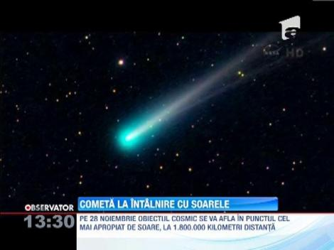 Moment astronomic de excepţie: O cometă va trece foarte aproape de Soare