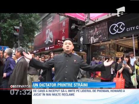 Sosia dictatorului Kim Jong-un face senzaţie în Hong Kong