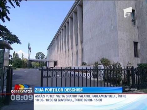 Palatul Parlamentului, Guvernul şi Arcul de Triumf pot fi vizitate gratuit de Ziua României