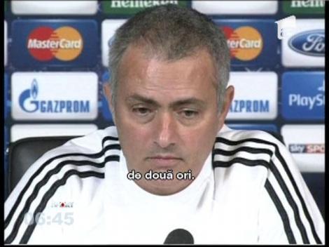 Jose Mourinho, generos cu traducătorul român