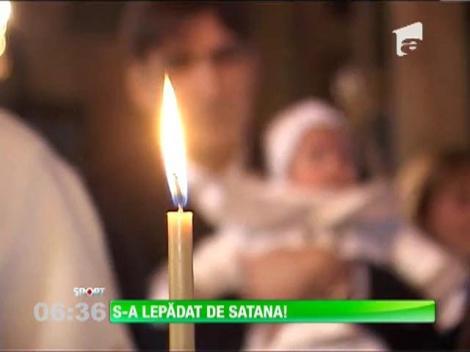 Victor Piţurcă a fost naş de botez la Craiova!