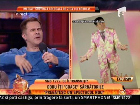 """Doru Octavian Dumitru: """"Pregătesc un spectacol nou"""""""