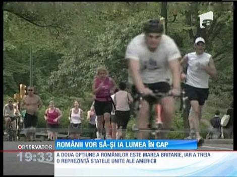 Peste un sfert dintre români doresc să trăiască în altă ţară