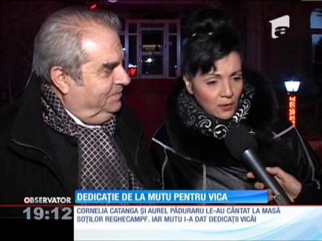 Vica Blochina petrece cu Adrian Mutu