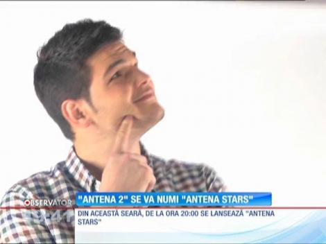 Antena 2 devine Antena Stars.! Consiliul Naţional al Audiovizualului şi-a dat acordul