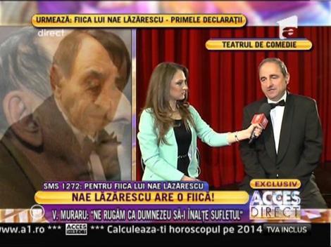 """Vasile Muraru: """"A fost mereu discret"""""""