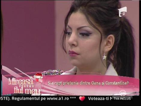 """Constantina: """"Oana este o persoană dezordonată!"""""""