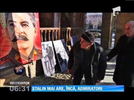 Stalin, omagiat de câteva sute de nostalgici