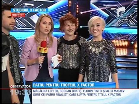 Ultimele repetiţii înainte de marea finală X Factor