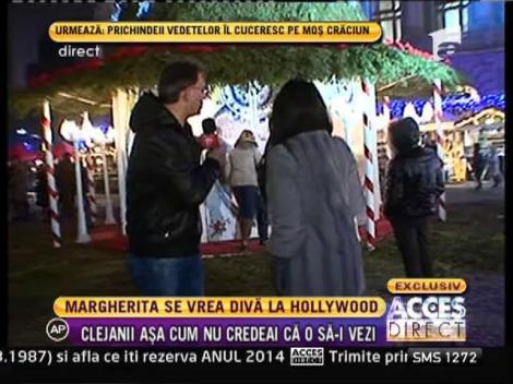Margherita din Clejani pregăteşte un videoclip cu un scenariu fabulos