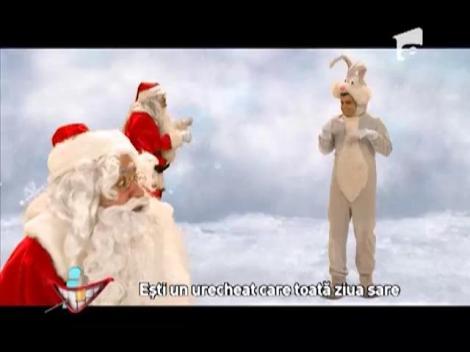 Batalia in rime!: Moş Crăciun vs. Iepuraşul de Paste