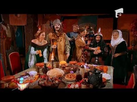 Vlad Ţepeş şi Ştefan cel Mare sărbătoresc împreună sărbătorile de iarnă