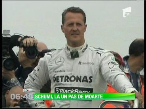 Schumacher, la un pas de tragedie