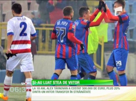 Steaua l-a transferat pe Târnovan