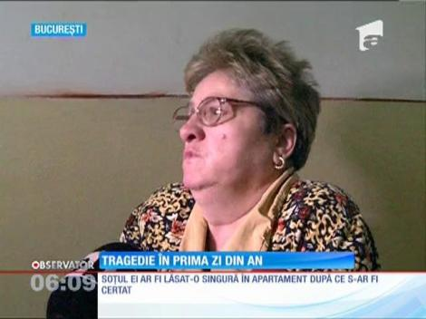 O femeie din București a fost găsită moartă în casă