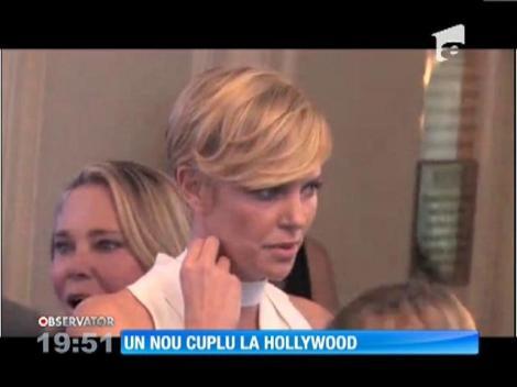 Charlize Theron şi Sean Penn, relaţie amoroasă