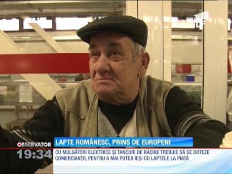 Uniunea Europeană vrea să interzică vânzarea laptelui proaspăt la tarabă