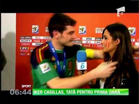 Iker Casillas e tătic. Sara Carbonero a născut un băieţel!