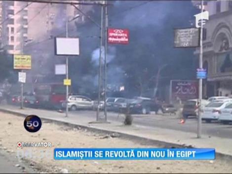 Islamiștii se revoltă din nou în Egipt