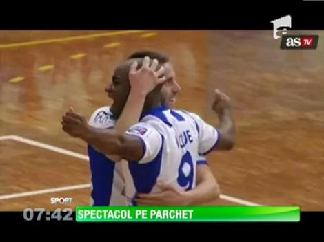 Gol superb marcat în campionatul de fotbal în sala din Spania
