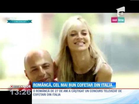 O româncă, desemnată cel mai bun cofetar din Italia